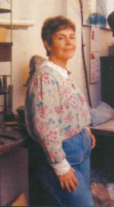 Lucy Lafuente en su taller